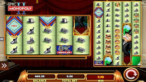 Epic Monopoly 2 tragaperras WMS