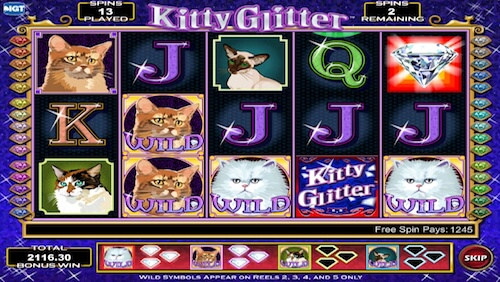 Kitty Glitter tragaperras IGT