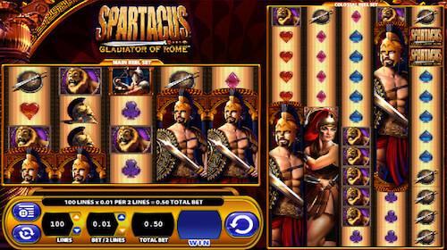 Spartacus WMS tragaperras