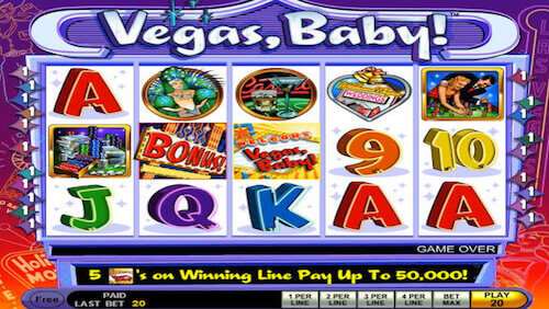 Vegas Baby tragaperras IGT