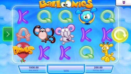 Balloonies tragapperras movil IGT