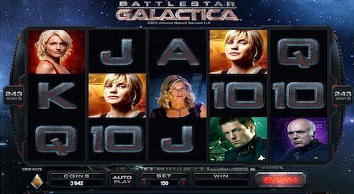 battlestar galactica tragaperras