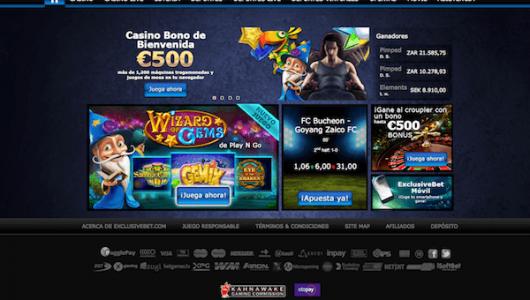 Jugar al Casino Exclusivebet