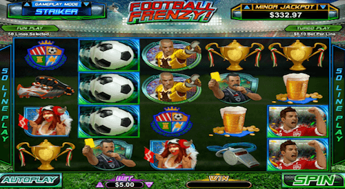 football frenzy tragaperras RTG
