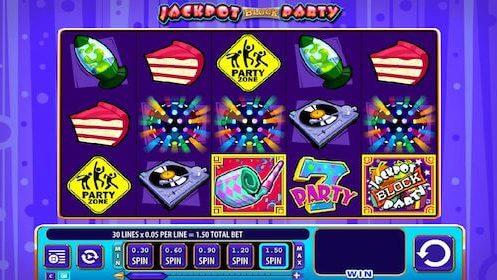 jackpot block party tragaperras wms