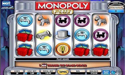 monopoly plus tragaperras