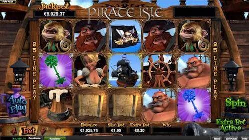 pirate isle tragaperras RTG
