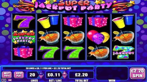 super jackpot party tragaperras