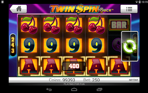 twin spin tragaperras Netent