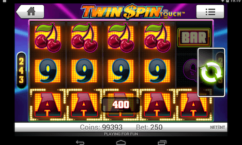 twin spin tragaperras Netent