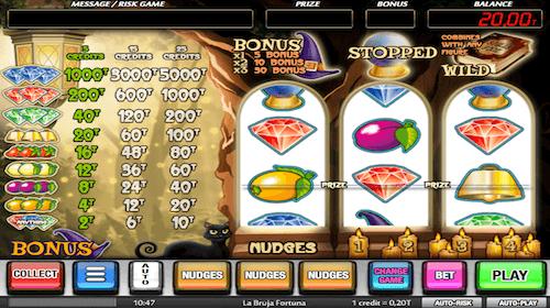la bruja fortuna tragaperras mga