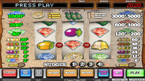 Spiele El Tesoro Pirata - Video Slots Online