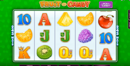 Fruit vs candy game