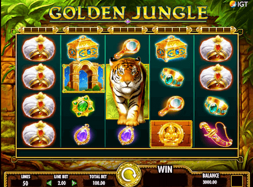 golden jungle game