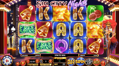 sin city nights game